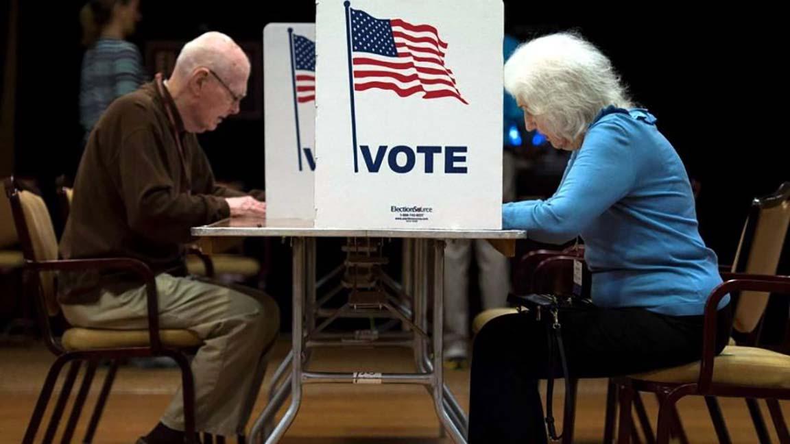 Votantes de Estados Unidos