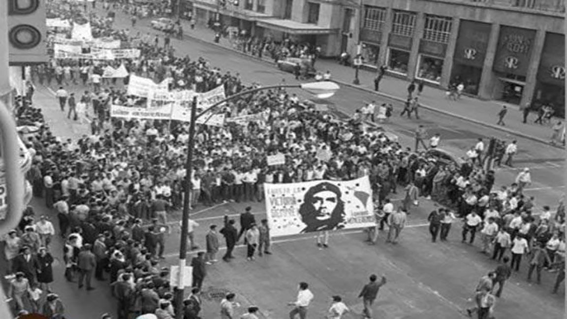 La marcha de los jóvenes