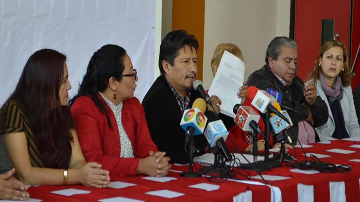 El presidente municipal de Chimalhuacán